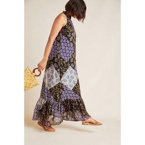 Maeve | Katrina Floral Patchwork Maxi Dress